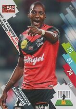 EAG-09 YOUNOUSSE SANKHARE # GUINGAMP CARD ADRENALYN FOOT 2015 PANINI