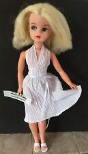 Marilyn Monroe Blanc 50 s métro robe & Big Pantalon repro pour 1960 s Sindy doll