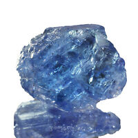 22.70 Cts Top Natural Loose Tanzanite Rough Vibrant Blue Certified Gemstone