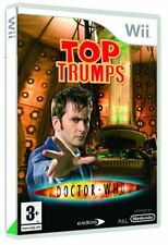 Top Trumps: Dr Who (Nintendo Wii) VideoGames Incredible Value and Free Shipping!
