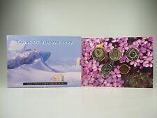 *** NORVEGIA CORONE KMS 1999 Coin Set Norway CORSO set di monete non monete metalliche in euro **