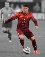 Portugal CRISTIANO RONALDO Glossy 8x10 Photo Spotlight Poster Football Print