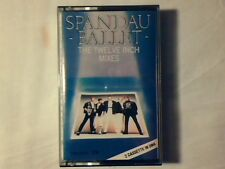 SPANDAU BALLET The twelve inch mixes mc cassette k7 ITALY COME NUOVA LIKE NEW!!!