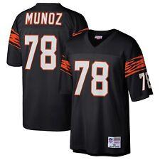 Anthony Munoz Cincinnati Bengals Mitchell & Ness 1989 Legacy Jersey L