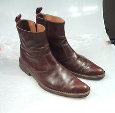 MOMA 45 Herren Boots Lederschuhe braun