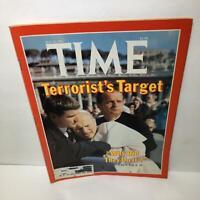 Time Magazine May 25 1981 Terrorist's Target John Paul II