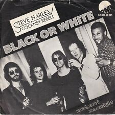 7inch STEVER  HARLEY & COCKNEY REBEL	black or white	HOLLAND 1975 EX /VG++ S3134)