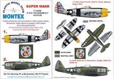 Montex Super Mask 1:24 P-47 D Thunderbolt for Vintage #2 #K24048