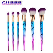 6PCS Pro Makeup Cosmetic Eyebrown Eye Shadow Foundation Powder Blush Lip Set Kit