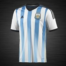 Adidas Small Argentina National Soccer Team Official Home Jersey AFA 2014 G74569