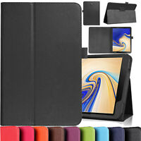 Leather Tablet Stand Flip Cover Case For Samsung Galaxy Tab A6 10.1 T580 T585 UK