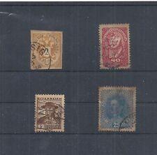 Österreich, kleines Los sehr alter Briefmarken, Michelwert € 50,00 / S 665