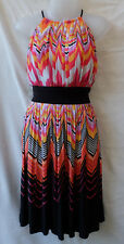 Maggy London Dress Size 10 - 12 Stretch Work Casual Evening Party Holiday Travel