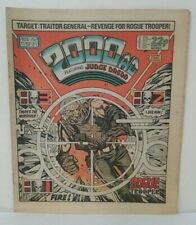 2000AD Prog 392 (1984) Newsprint Comic Judge Dredd Rogue Trooper Nemesis Warlock