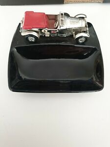 40:1 Scale Vintage Lesney 1929 Bentley Supercharged Car Ashtray Bowl Model Retro
