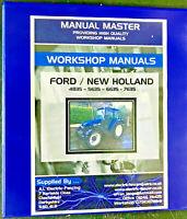 New Holland 4835,5635,6635,7635,Workshop & Repair Manual,Fully Printed,Free Post