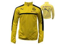 Puma Borussia Dortmund 1/4 Zip TrainingsTop gelb BVB 09 Fussball-Shirt XS - XL