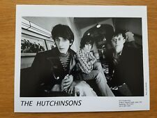 LES HUTCHINSONS 8x10 NOIR ET BLANC Photo De Presse 27.4ms GROUPE ROCK THE Zeros