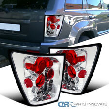 For 05-06 Jeep Grand Cherokee Clear Reverse Tail Lights Rear Brake Parking Lamps