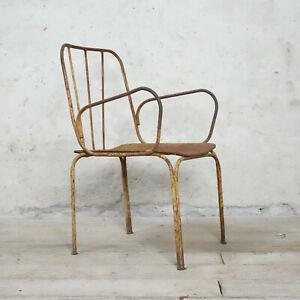 Vintage Metal Garden Chair