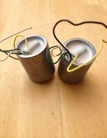 Rare Vintage Shure Audio Input Transformer Pair DC Matched for Mic Preamps / SUT