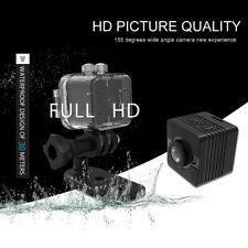 HD 1080P Mini Camcorder 155-Degree Wide-Angle Lens DVR Sport Video Camera SQ12