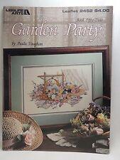 Paula Vaughan Garden Party Cross Stitch Pattern Leaflet 2452 Book 52