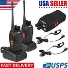 2X Baofeng BF-888S Walkie Talkie Long Range 2way 16CH 400-470MHZ Ham Radio UHF