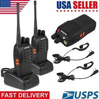 Baofeng BF-888S UHF 5W Handheld 16 Channels Two way Ham Radio Walkie Talkie USA