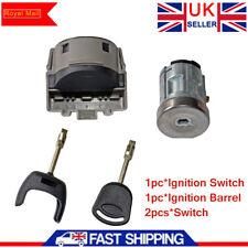 Ignition Switch & Barrel Cyclinder Lock Cylinder Key For Ford Transit MK7 2006-