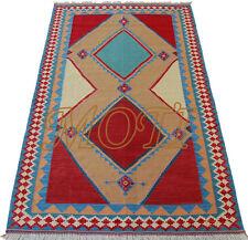 Gashghai Nomaden Kelim 210 x 132 Orient Perser Teppich Läufer Wandteppich Modern