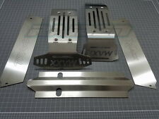 1/5 Traxxas X-Maxx XMAXX Stainless Steel Chassis Armor Skid Plate Hollow Version