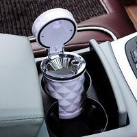 Portable Ashtray Car LED Light Ashtray Auto Travel Cigarette Ash Cup Holder