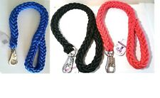 New 2' Heavy Duty Strong Durable Thick Braid Rope Dog Leashes