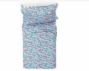 Pillowfort Transportation 100% Cotton Sheet Set - Twin