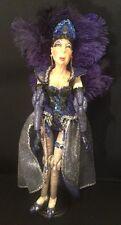 "Katherine's Collection Wayne Kleski Retired 24"" Vegas Showgirl Doll Cher"