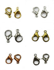 120pcs 12/14cm Lobster Clasps DIY For Jewelry Necklace Bracelet Making 6 Color