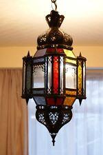 Authentic Handmade Moroccan Lantern - Multicoloured