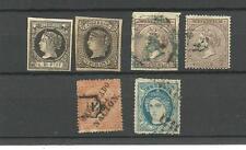 Antillas-Isla del Caribe. Conjunto de 6 sellos con valor 277 Euros