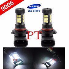 9006 HB4 Samsung LED 57 SMD White 6000K Headlight Xenon Light Bulbs Low Beam