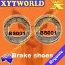 FRONT REAR Brake Shoes HONDA C 70 All Models 1975-1980 1981 1982 1983 1984 1985