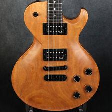 Dean USA Soltero MHG Natural Mahogany - 7lbs 6oz LP Style Guitar w/ Jumbo Frets!