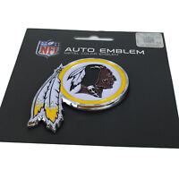 New NFL Washington Redskins Auto Car Truck Heavy Duty Metal Color Emblem