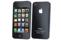 Apple iPhone 4 16GB WiFi Verizon Wireless Black Smartphone