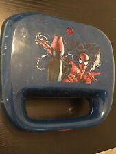 Sale Marvel Spiderman 2 Slice Spider Logo Waffle Maker Appliance