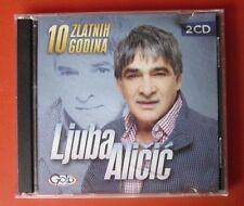 Ljuba Alicic 2CD Gold 10 Najboljih Godina Ljuba Aličić Narodna Serbia