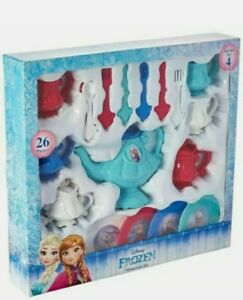 NEW Disney Frozen Hot Cocoa Dinnerware Set 26 Pieces! Host A Frozen Tea Party!