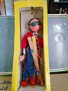 Vintage Pelham Puppet  Girl with Medallion & Sunglasses