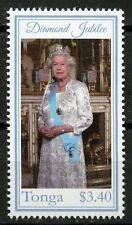TONGA 2012 QUEEN  ELIZABETH II DIAMOND JUBILEE STAMP