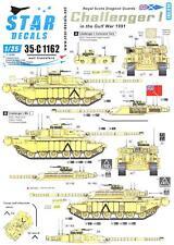 Star Decals 1/35 CHALLENGER I TANK Royal Scots Dragoon Guards Gulf War
